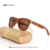 KITHDIA Bambú gafas de Sol Hombres Espejo Original gafas de Sol de Madera Del Monopatín De Madera gafas de Sol de Mujer de Marca Gafas de Sol UV400 Gafas