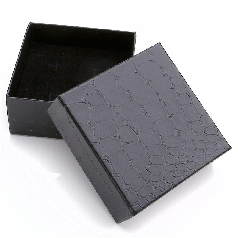 7e3a829257f3 Al por mayor negro moda fresca regalos gemelos tie clip collar Pendientes  anillo joyero joyería Accesorios embalaje