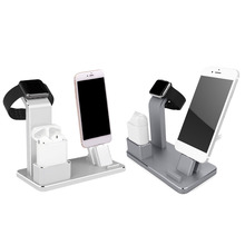 Besegad 4in1 Phone Watch Stand Dock Holder Station for AirPods iPad Apple Watch iWatch 38mm 42mm iPhone X 7 8 Plus 6s Plus 5s SE