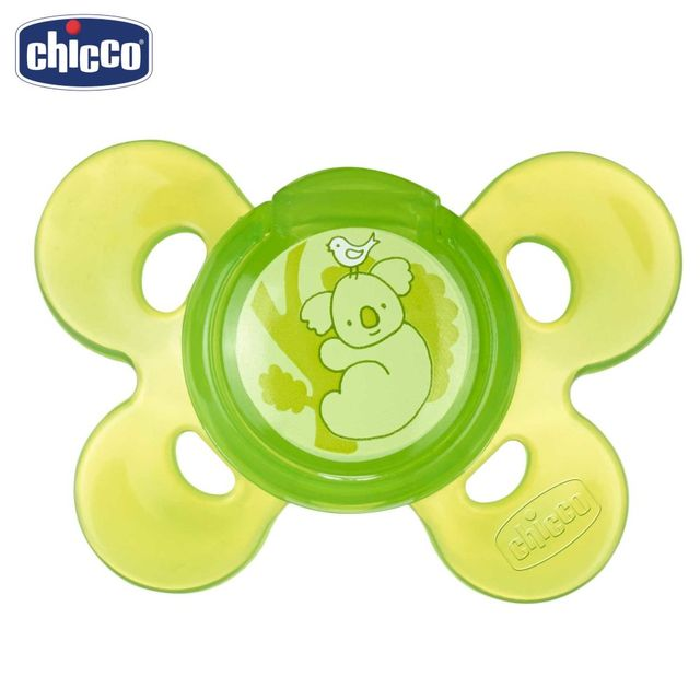 "Пустышка Chicco Physio Comfort, 1 шт., 12 мес.+, силикон, ""Коала"""