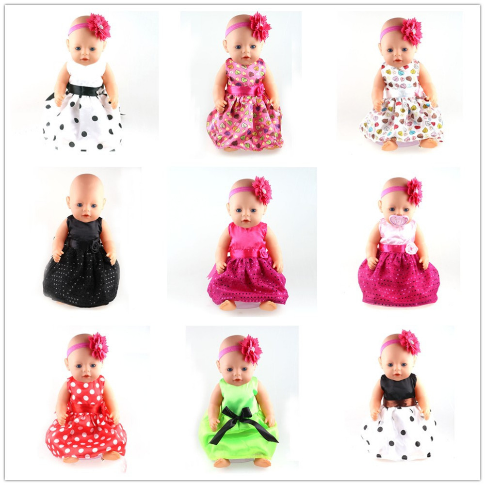 12 styles choose leisure sport clothes Wear fit 43cm Baby Born zapf, Children best Birthday Gift(only sell clothes)