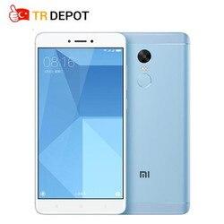 Original Xiaomi Redmi Note 4X 4GB 64GB 5.5 Inch Display 4G Deca Core 1920x1080 4100mAh Fingerprint ID Mobile Phone
