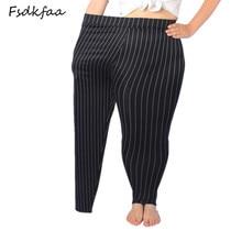 2018 Women High Elastic Thin Faux Leather Leggings Large Size Xl-5XL Imitation Leather Pants Skinny Shiny Black Plus Leggings