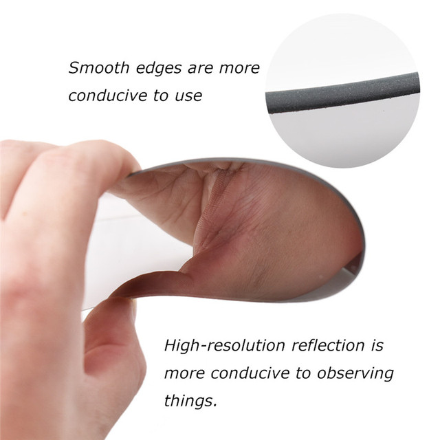 1 PC dentaire orthodontique Double face miroirs réflecteur dentisterie intra-orale verre enduit titane dentaire photographie miroirs