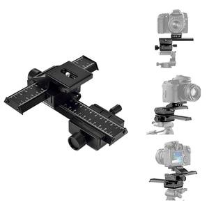 "Image 5 - HFES 4 Way Macro Focusing Rail SliderสำหรับCanon Sony Pentax Nikon Olympus Samsungอื่นๆ 1/4 ""Screw Hole"