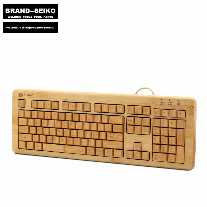 ФОТО Bamboosuit keyboard mouse suit business office keyboard cable individuality