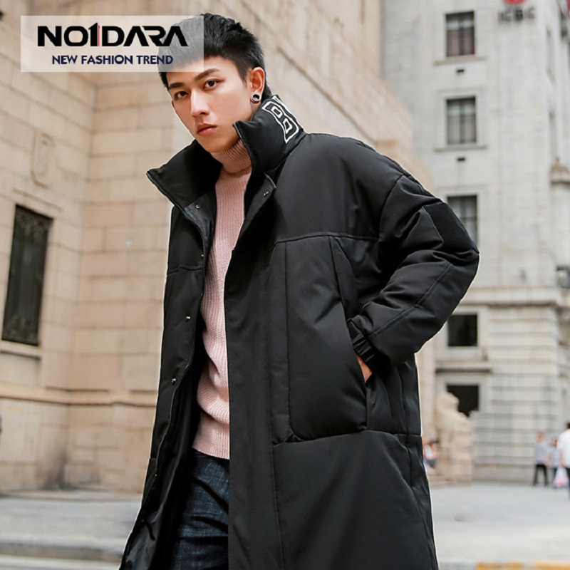 NO.1 DARA 2018 new   down   jacket for men brand clothing long winter thick warm duck   down   jacket male top quality   down     coat   jacket