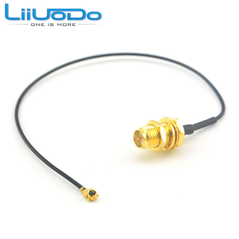 где купить (5 pieces/kit) Extension Cord UFL to RP SMA Connector Antenna WiFi Pigtail Cable IPX to RP-SMA Jack Male SMA to IPX 1.13 по лучшей цене