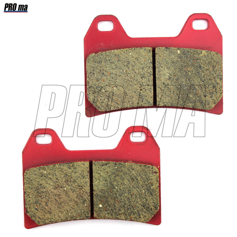 Motorcycle Brake Pads Front ceramic fiber Racing quality For BENELLI Uno C 150/250 2013 BN 600 GT 2014 2 UE 750 2009-10