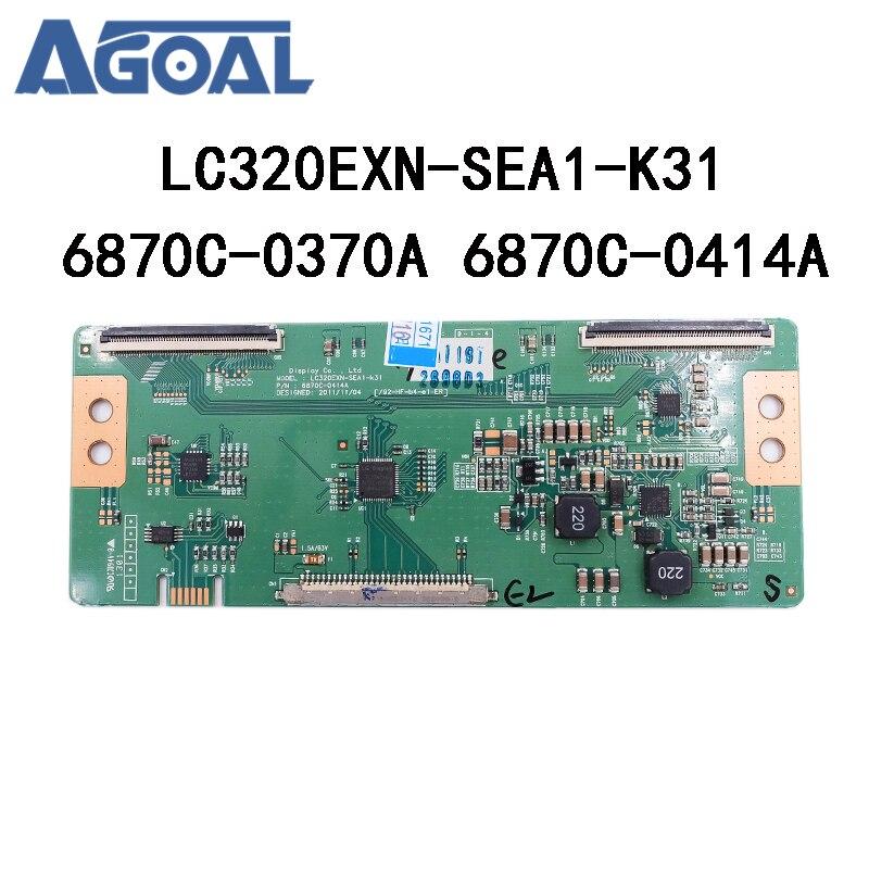 100% Original Logic Board LC320EXN 6870C-0370A/0414A LC320EXN-SEA1-K31 Tcon T-con Board Converter Board