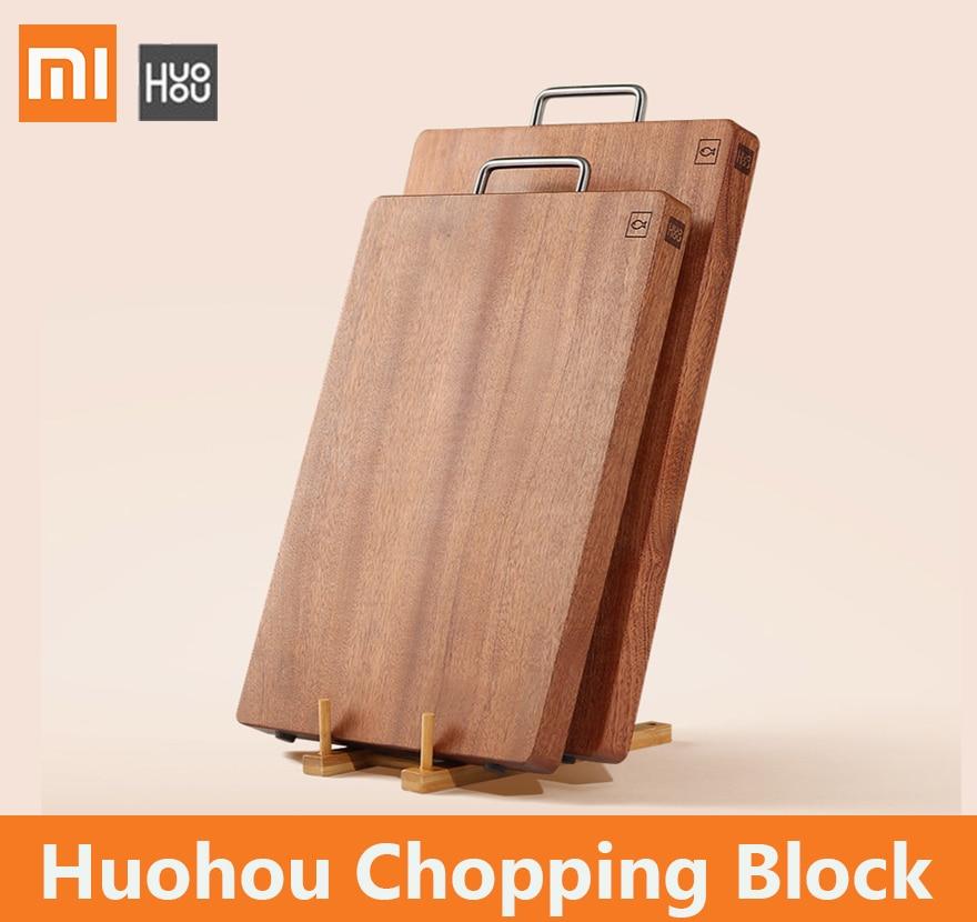 Xiaomi mijia huohou Chopping Block Thick cutting board for meat fruit vegetable bar Kitchen tools Ebony