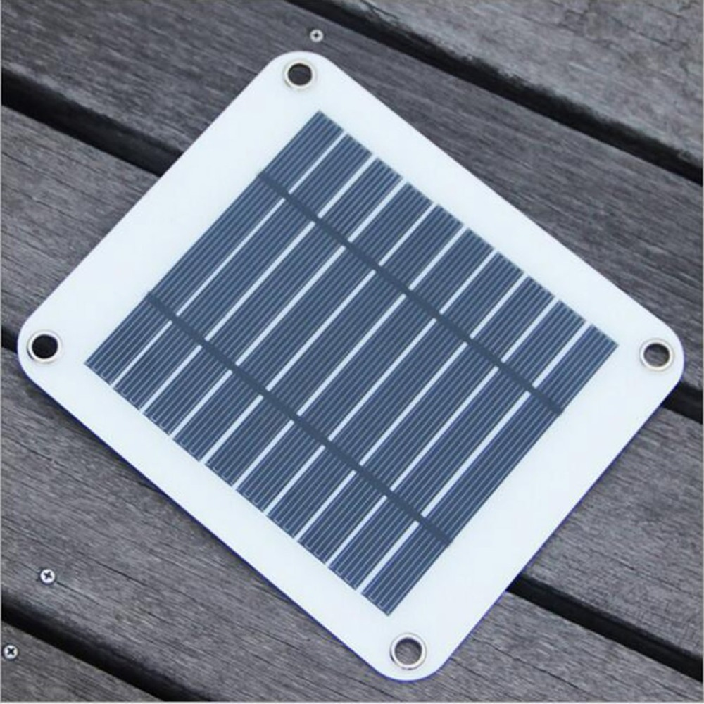 Solar Panel Charger 10W 5V for iPhone for Xiaomi for Samsung Solar Module USB Port Ultra Thin Solar Charging Board for Phones in Mobile Phone Chargers from Cellphones Telecommunications