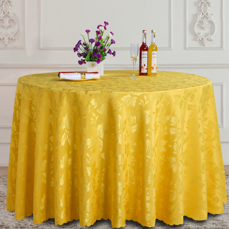 Fashion Design Round Table Cloth Pattern Fabric Tablecloth Square