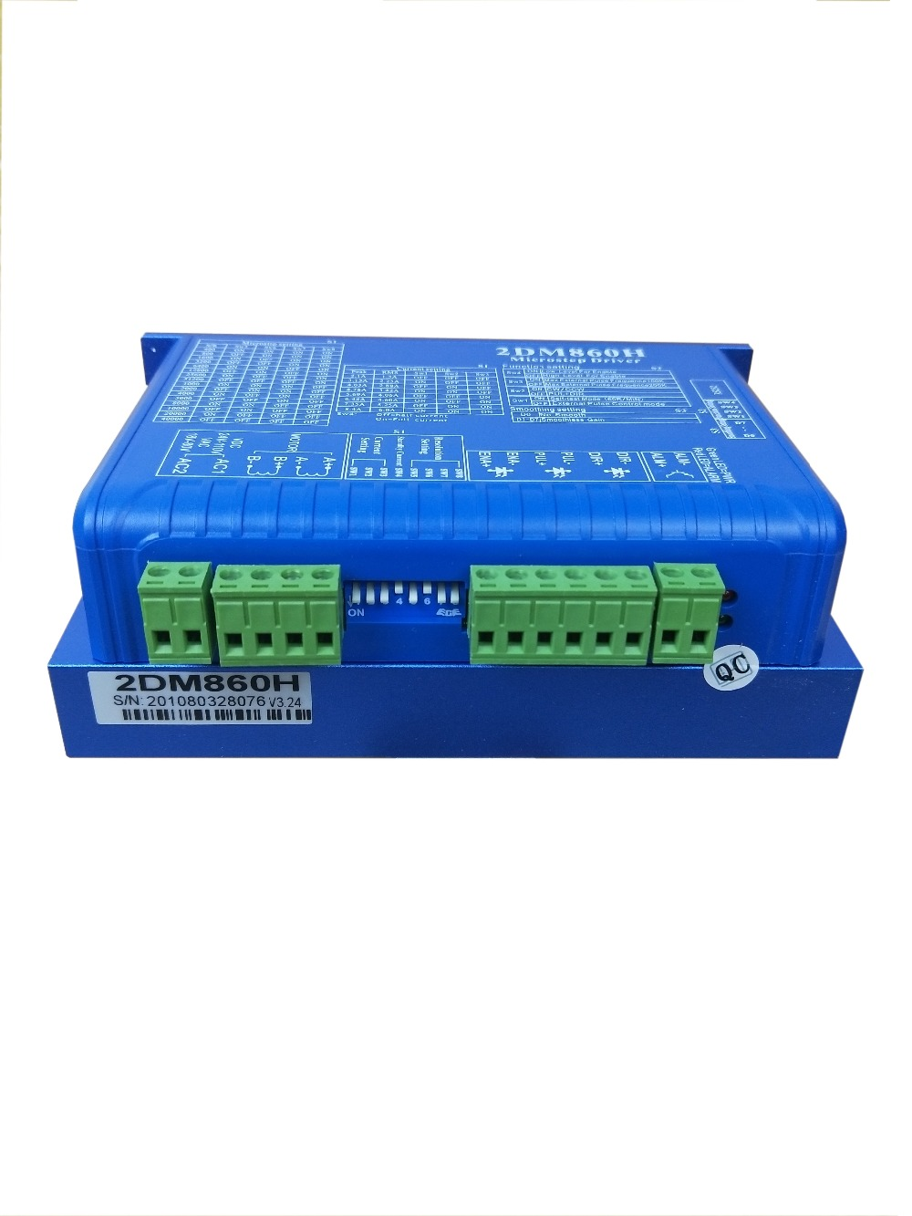 2-Phase Stepper Driver MA860-DSP 24V-80VDC or VAC16-70VAC Output 6A Current NEMA 34 Motor new product 2 phase stepper driver ma860 dsp design working 24v 80vdc or vac16 70vac output 6a current work with nema 34 motor