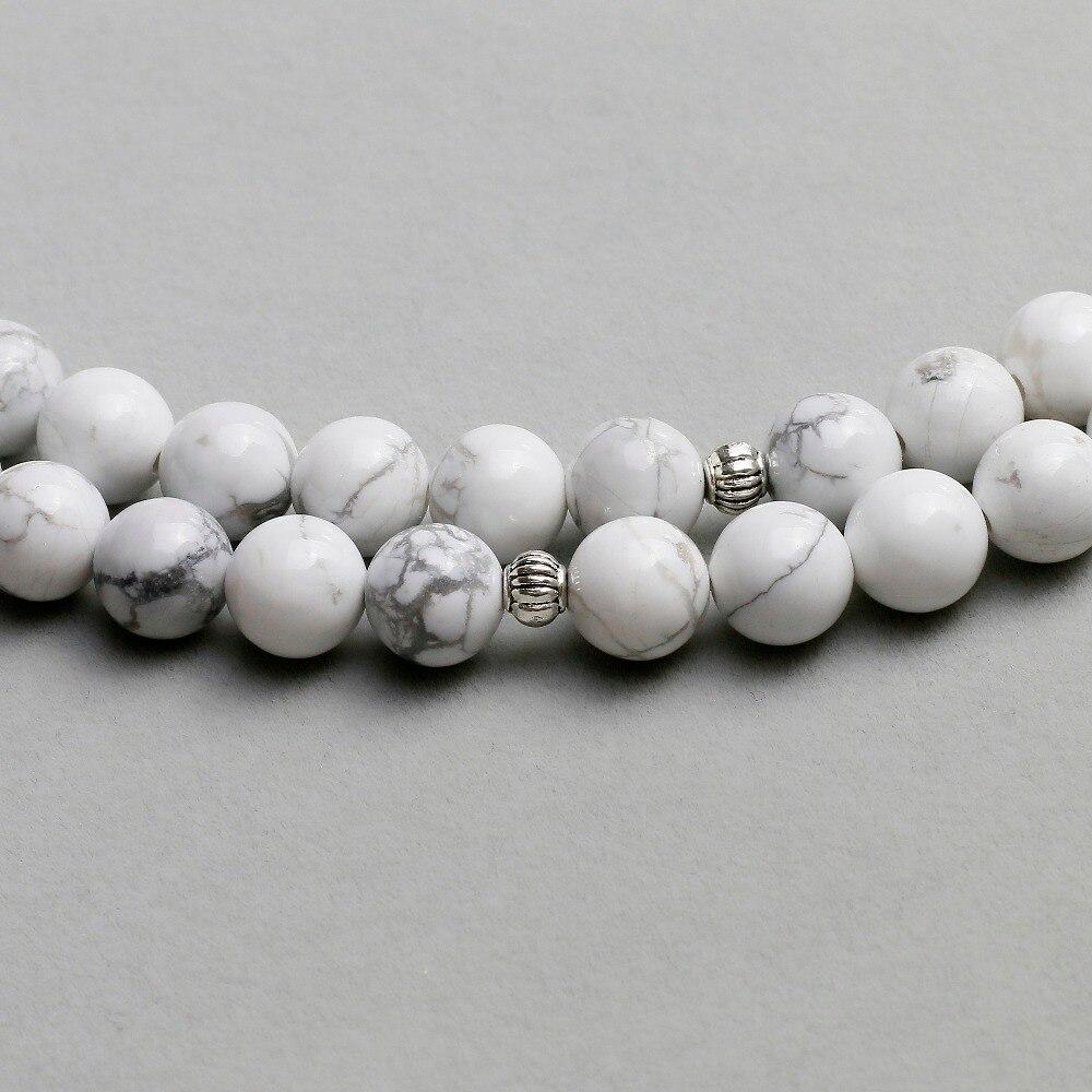 Howlite Mala Necklace 3