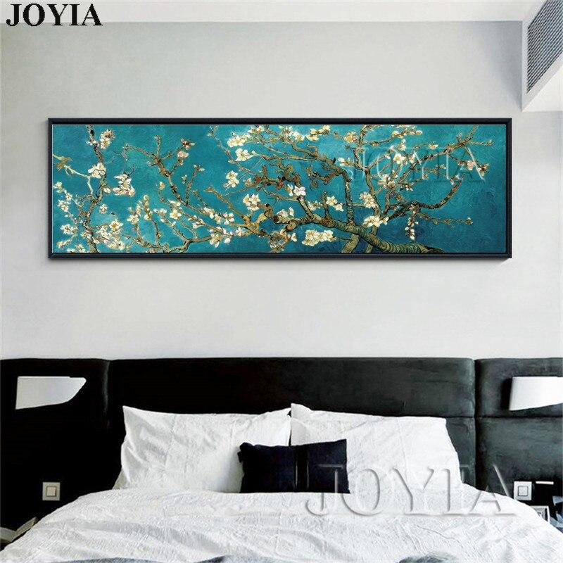 Vincent Van Gogh Blühende Mandel Baum Ölgemälde Leinwand Gedruckt Malerei  Wohnkultur Große Größe Wand Bild Für Wohnzimmer