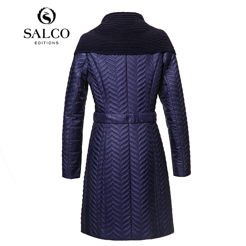 Gratuite Mode De Rembourré Broderie Livraison 2015 dark Long Blue Black Dames Européens Nouvelles Salco Et Américains qATRxWW