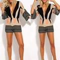 Hot Marketing Women Summer Sexy Neck Deep V Jumpsuit Casual Butterfly Jumpsuit WJul7