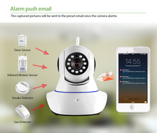 720P Security Network CCTV wifi camera Wireless Megapixel HD Digital Security ip camera IR Infrared Night Vision local alarm