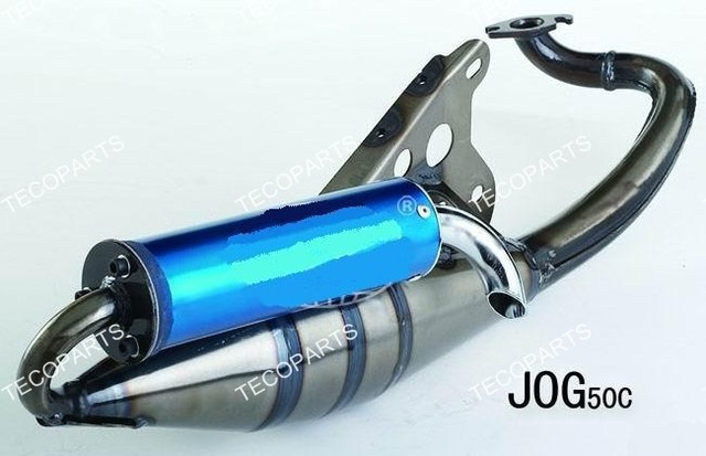 For YAMAHA Jog 50cc 2 stroke scooters Moped Performance Exhaust Pipe-in  Exhaust & Exhaust Systems from Automobiles & Motorcycles