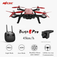 Drone With Camera Live Video FPV Drone With Goggles MJX Bugs 8 Pro B8pro 5.8G 720P 4CH Brushless Motor Angle/Acro RC Helicopter