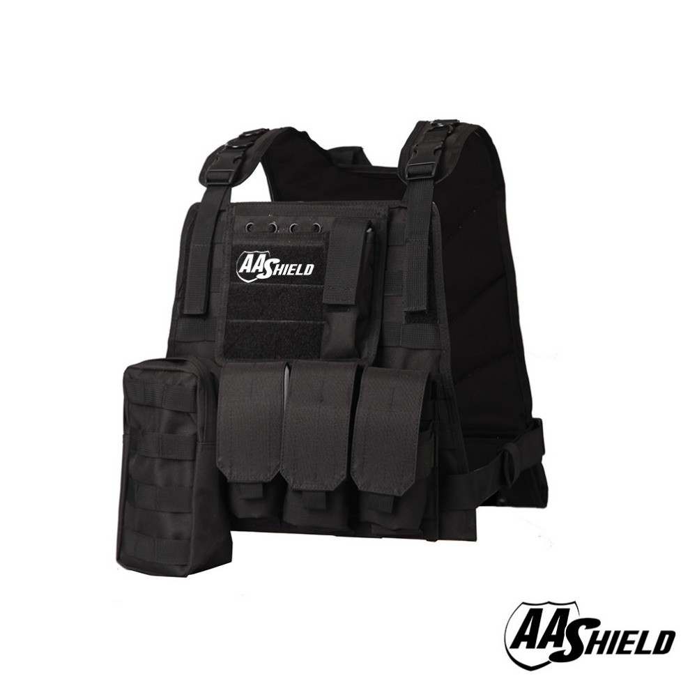 AA Shield Molle Hunting Plates Carrier MBAV Style Military Tactical Vest / Black коаксиальная автоакустика kicx alq 652
