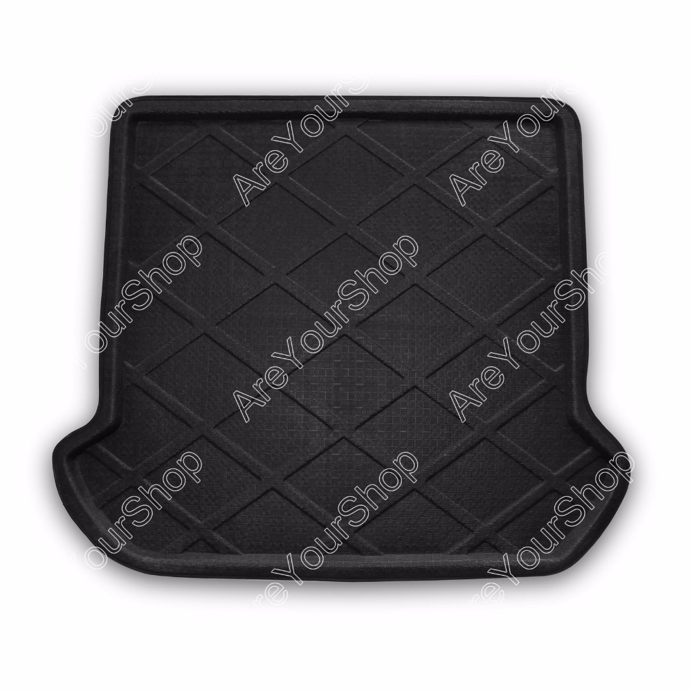 Car Auto Cargo Mat Boot liner Tray Rear Trunk Sticker Dog Pet Cover For Volvo XC90 2003-2013 1PCS Black High Quality Car Styling car rear trunk security shield cargo cover for jeep compass 2007 2008 2009 2010 2011 high qualit auto accessories