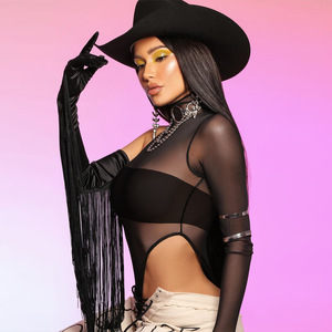 Cryptographic High Neck Sheer Mesh Sexy Bodysuit One Piece One Shoulder Long Sleeve Jumpsuit Party Clubwear Fashion Body Leotard