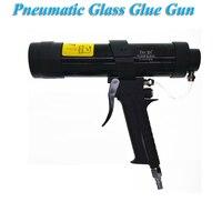 Pneumatic Glass Glue Gun Door Edge Cover Shock Absorber Chassis Spray Sheet Metal Glue Gun Set 300ml