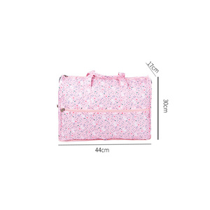 Image 5 - High Quality Nylon Folding Travel Bag Large Capacity Women Duffle Bag Organizer Packing Cubes Luggage Printing Men Weekend Bag
