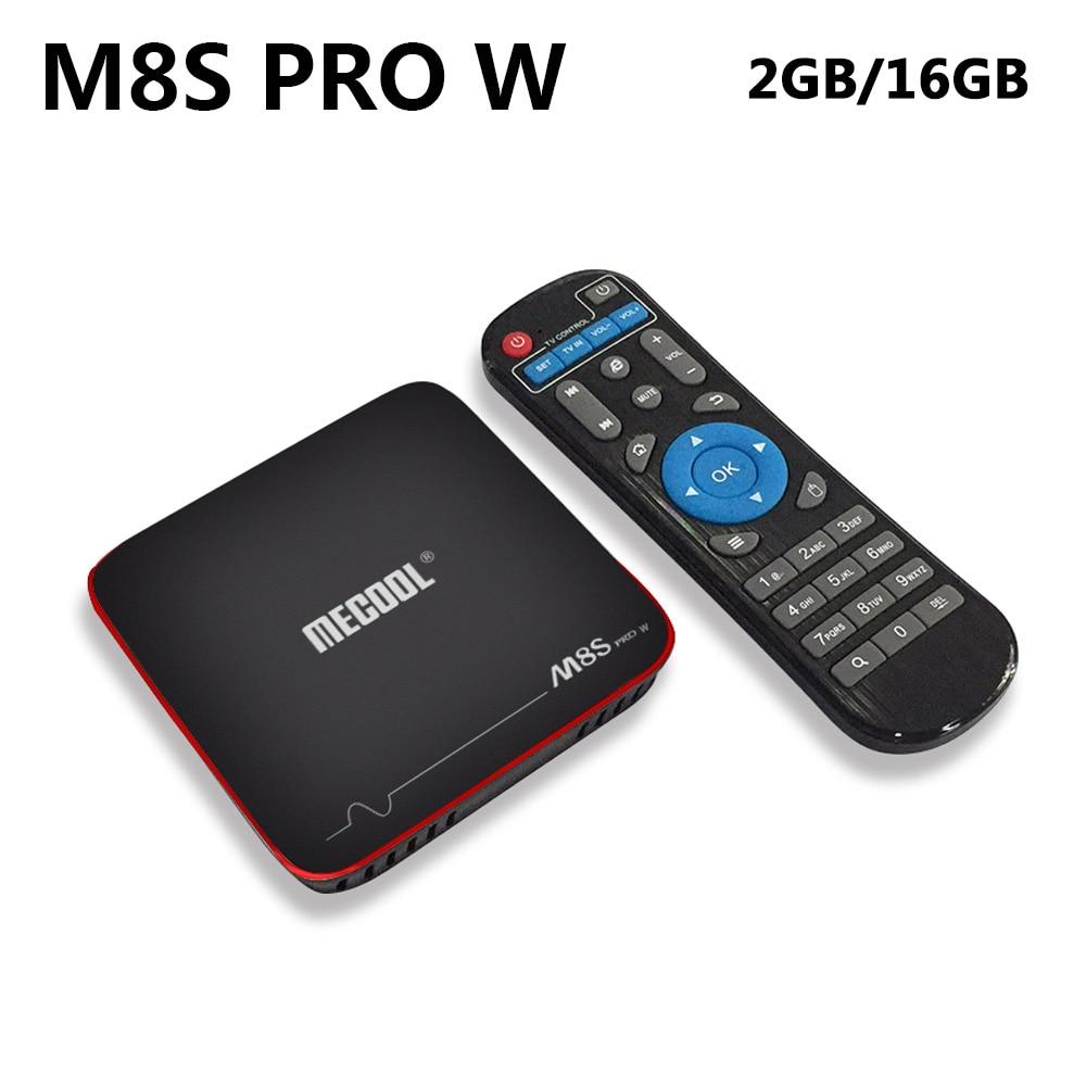 Das Beste Mecool M8s Pro W Android 7.1 Tv Box Amlogic S905w Quad Core Media Player 2 Gb Ddr3 16 Gb Rom 2,4 Ghz Wifi H.265 4 Karat Hd Smart Tv Box Mit Den Modernsten GeräTen Und Techniken