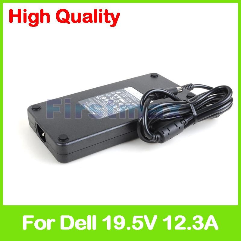 Slim 19.5V 12.3A laptop AC adapter charger for Dell Precision M6400 M6500 M6600 M6700 M6800 Mobile Workstation U896K PA-9E недорго, оригинальная цена