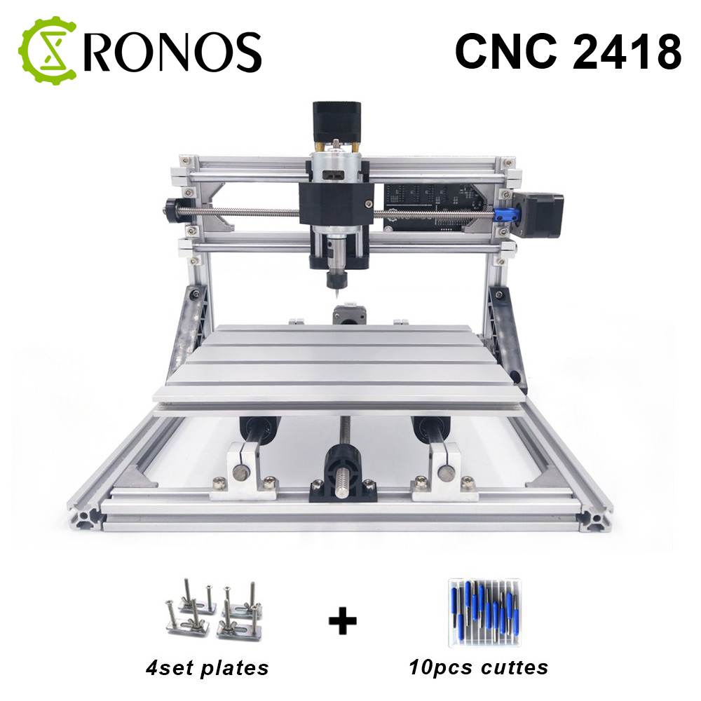CNC 2418 With ER11,CNC Engraving Machine,Pcb Milling Machine,Wood Carving Machine,MINI CNC Router,CNC 2418,Best Gifts 3040z dq cnc3040 600w ball screw wood pcb engraving machine milling carving machine cnc 3040 cnc machine cnc router