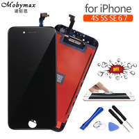 Mobymax AAA Pantalla Ecran Module For IPhone 6 7 4S 5S SE LCD Display Touch Screen