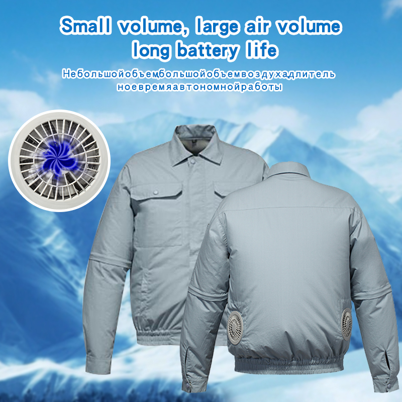Summer heat resistant air conditioning service safe and reliable high temperature work fishing clothes can be customized in Fishing Clothings from Sports Entertainment