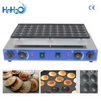 CE aprobado 110 V/220 V comercial 50 agujero dorayaki de mini holandés panqueques mini pancake maker poffertjes holandeses grill
