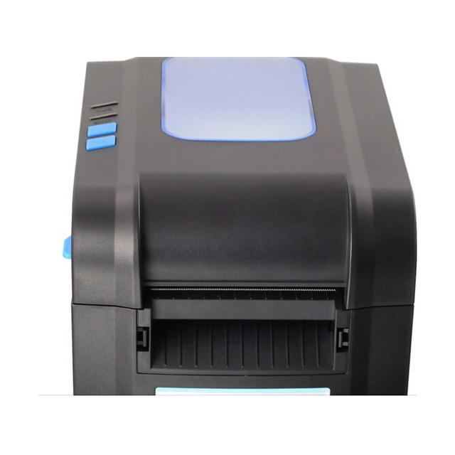 XP-370B label barcode printer thermal receipt or label printer 20mm to 80mm thermal barcode printer automatic stripping Computer, Office & Security