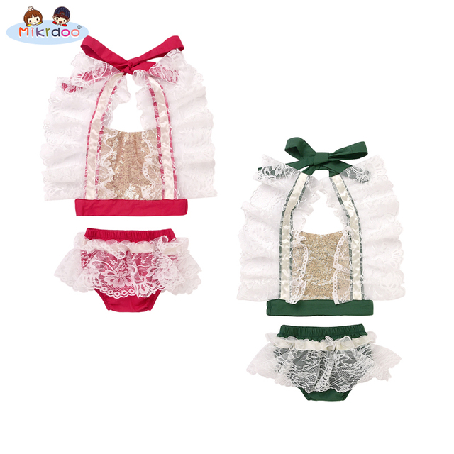 aacd2cda2 Baby girl clothes 2018 top quality Cute Baby Romper Summer Ruffled Girl  Costumes Set Kids Jumpsuit baby Cotton lace Romper