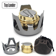 Portable Alcohol Stove Camping Equipment Stand Fire Spirit Tourist Cooker Outdoor Picnic Cookware Mini Alcohol-burners Furnace