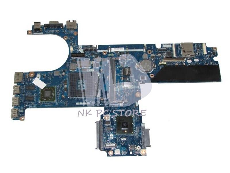 593839-001 LA-4891P Main Board For Hp probook 6440B 6540B Laptop Motherboard HM57 DDR3 ATI HD5430 GPU cn 0vx53t 0vx53t vx53t main board for dell inspiron n5010 laptop motherboard 48 4hh01 011 hm57 ati hd 5470 ddr3