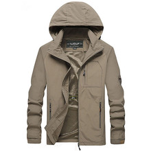 Куртка мужская ветровка 2018 весна осень модная куртка водостойкая мужская с капюшоном повседневные куртки мужские пальто тонкие мужские пальто верхняя одежда