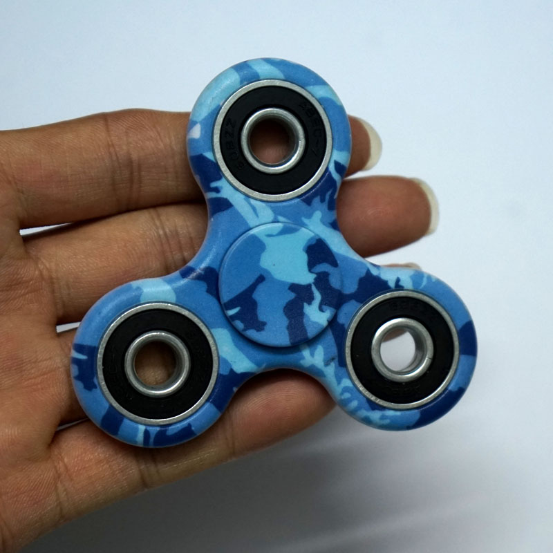 3D Fidget Hand Finger Spinner EDC Focus Stress Reliever Toys Camouflage Galaxy Sky For Autism And ADHD Adult Kids Toys B0185C