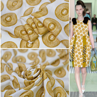 Very good quality 100% silk elastic crepe fabric dress Fashion fabric limit