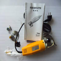 Hot Sale Electric Scissors For Fabric Round Knife Cloth Cutting Machine