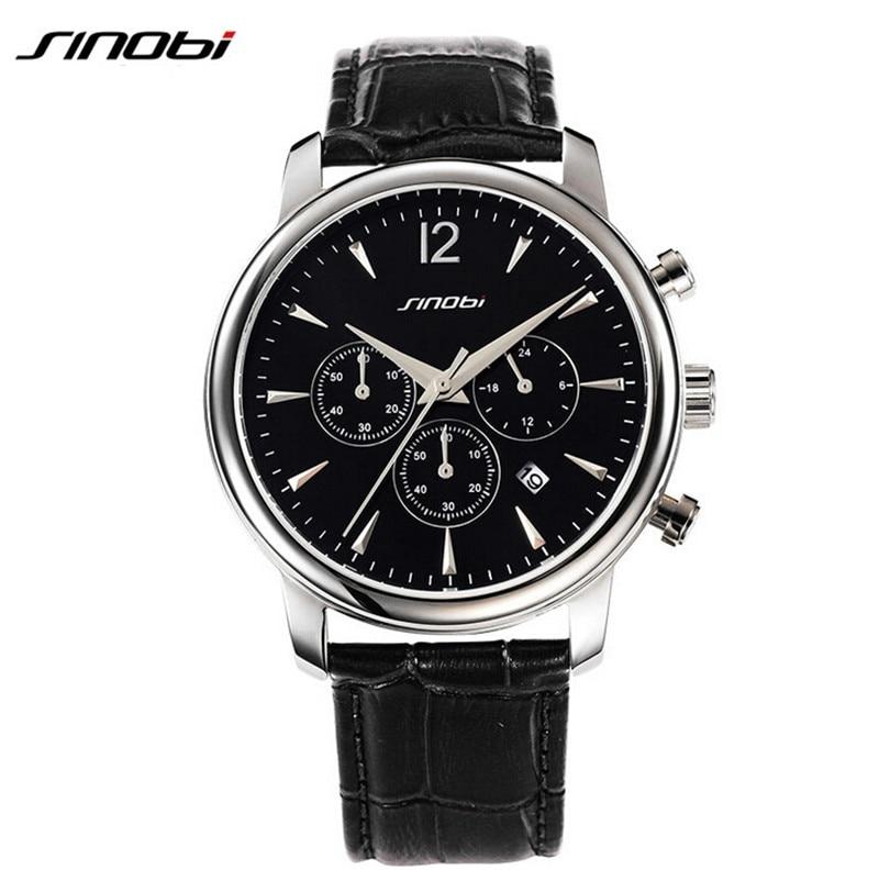 SINOBI 2017 Brand Simple Watches Men Casual Quartz Leather Wristwatch Military Reloj Hombre Men'S Clock Relogio Masculino AA181 велосипед silverback starke 2 2014