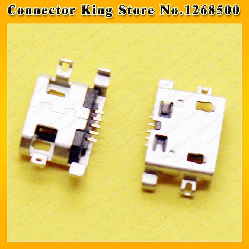 usb connector micro 5P charging port for For Lenovo IdeaTab S6000F S6000,MC-063