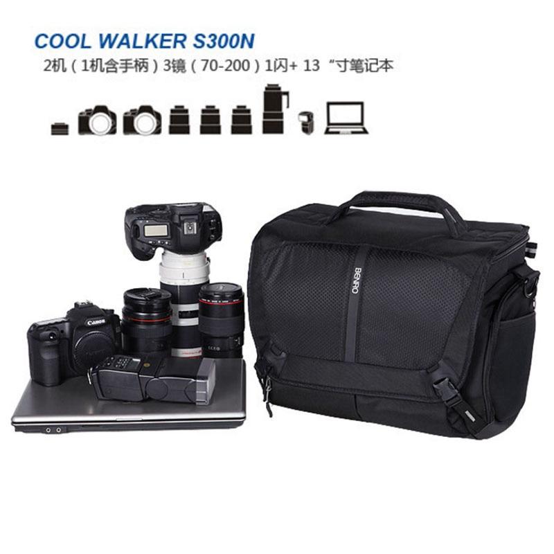 Benro CoolWalker Pro CW S100 one shoulder professional camera bag slr camera bag rain cover