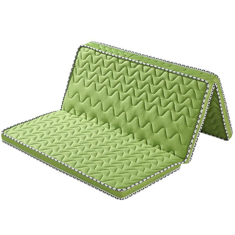 Faltbare 100% Natürliche Kokos Seide 10 Cm Matratze Tatami Weiche Palm Waschbar Kunden Komfortable Hohe-ende Einzigen Größe Matratzen Wohnmöbel