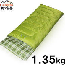 Creeper 1350g Sleeping Bag Mini Ultralight Multifuntion Portable Splice Outdoor Envelope Sleeping Bags Travel Hiking Camping Bag
