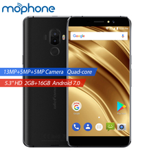 UleFone S8 Pro 4G Smartphone Android 7.0 MTK6737 Quad Core 2GB+16GB 13.0MP+5.0MP Dual Rear Camera 5.3inch 3000mAh Mobile Phone(China)